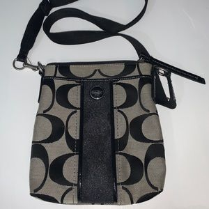 Signature Canvas Coach Crossbody